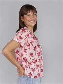 BLOUSE ABOUT THE PALM TREES