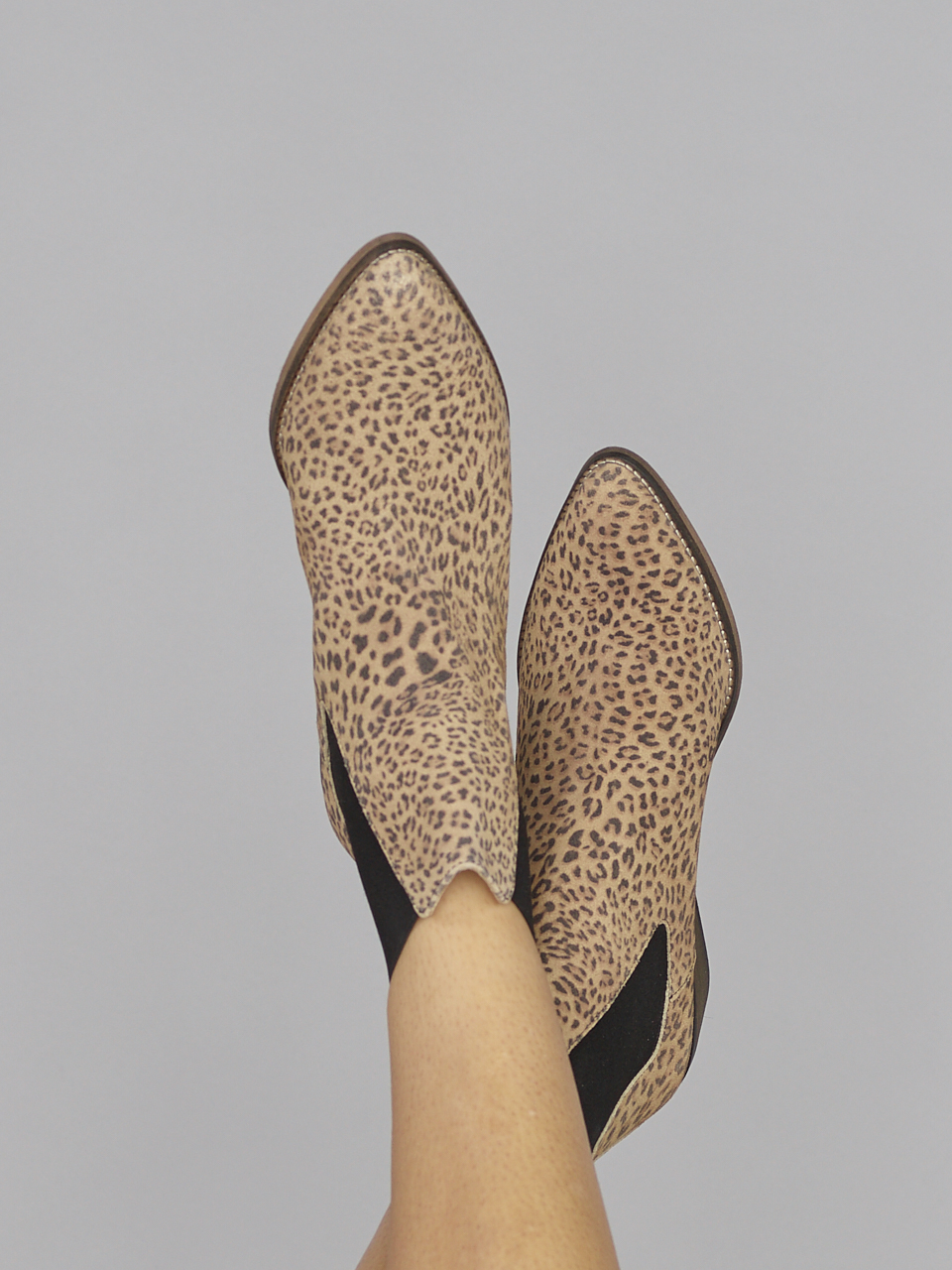BOOT STELLA SPLIT LEOPARD