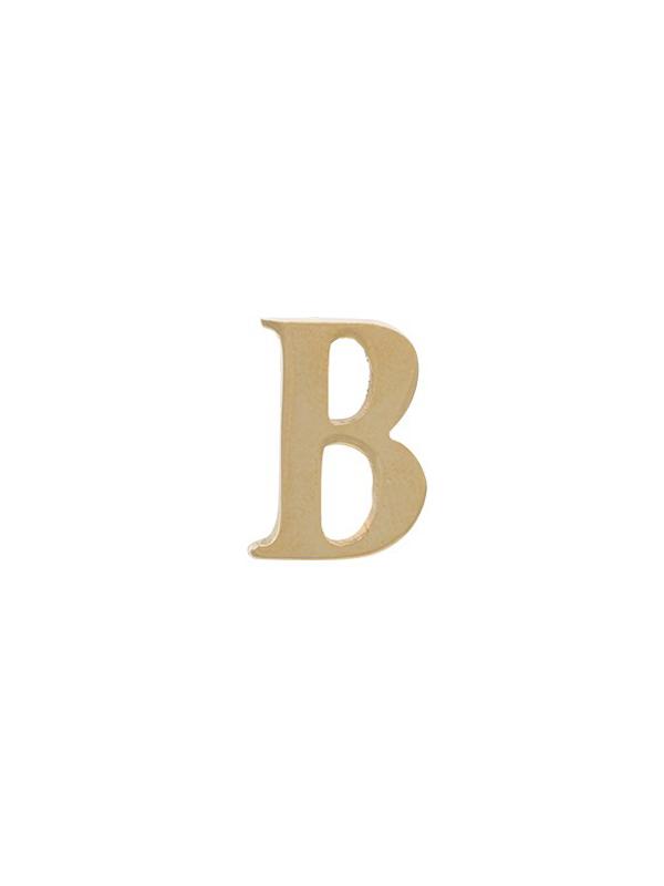 BROOCH INITIAL B