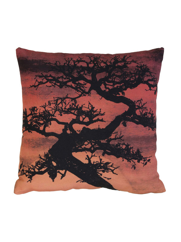 CUSHION BONSAI SUNSET