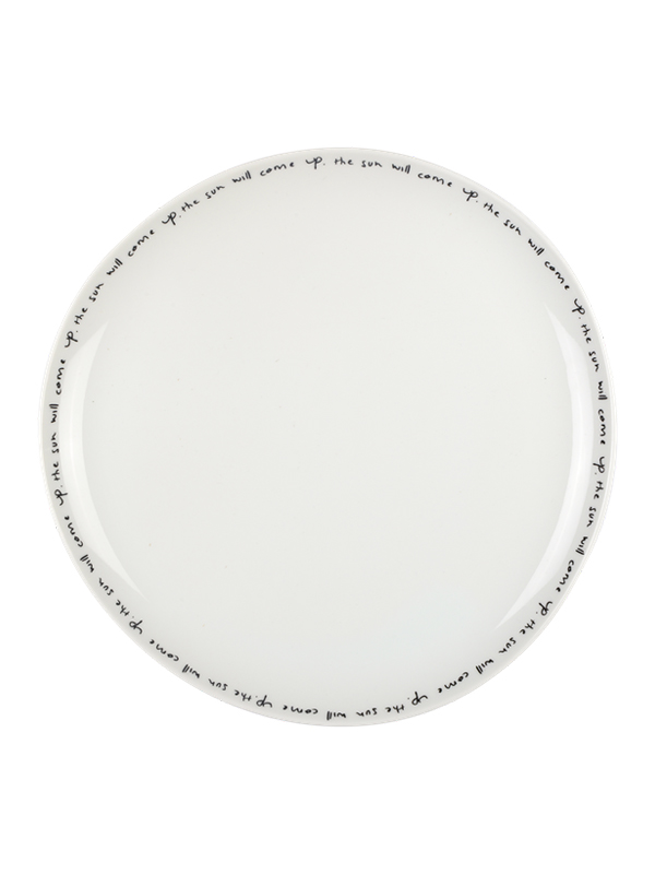 DINNER PLATE POETRY