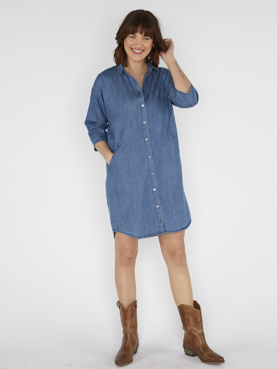 DRESS BLOEME DENIM
