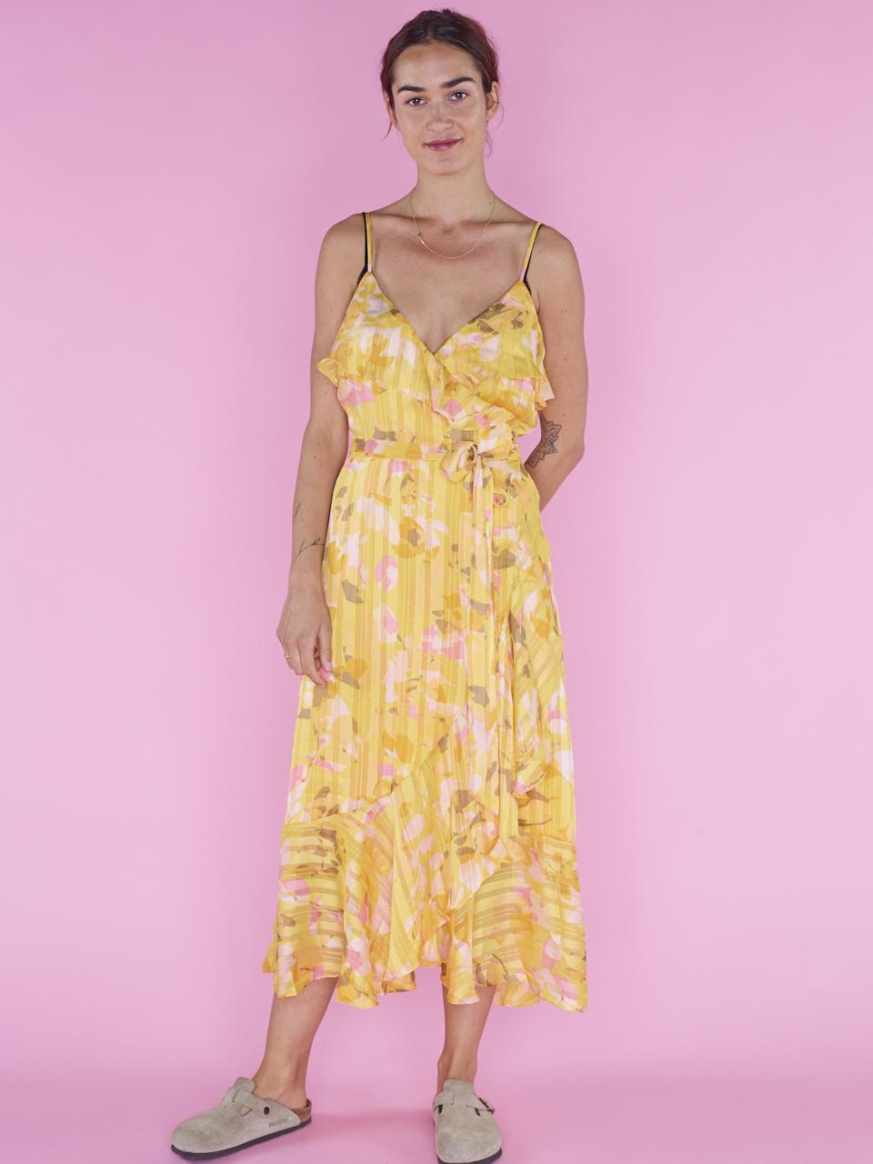 Oppdatert Second Female DRESS HEAT WRAP MAXI US-07