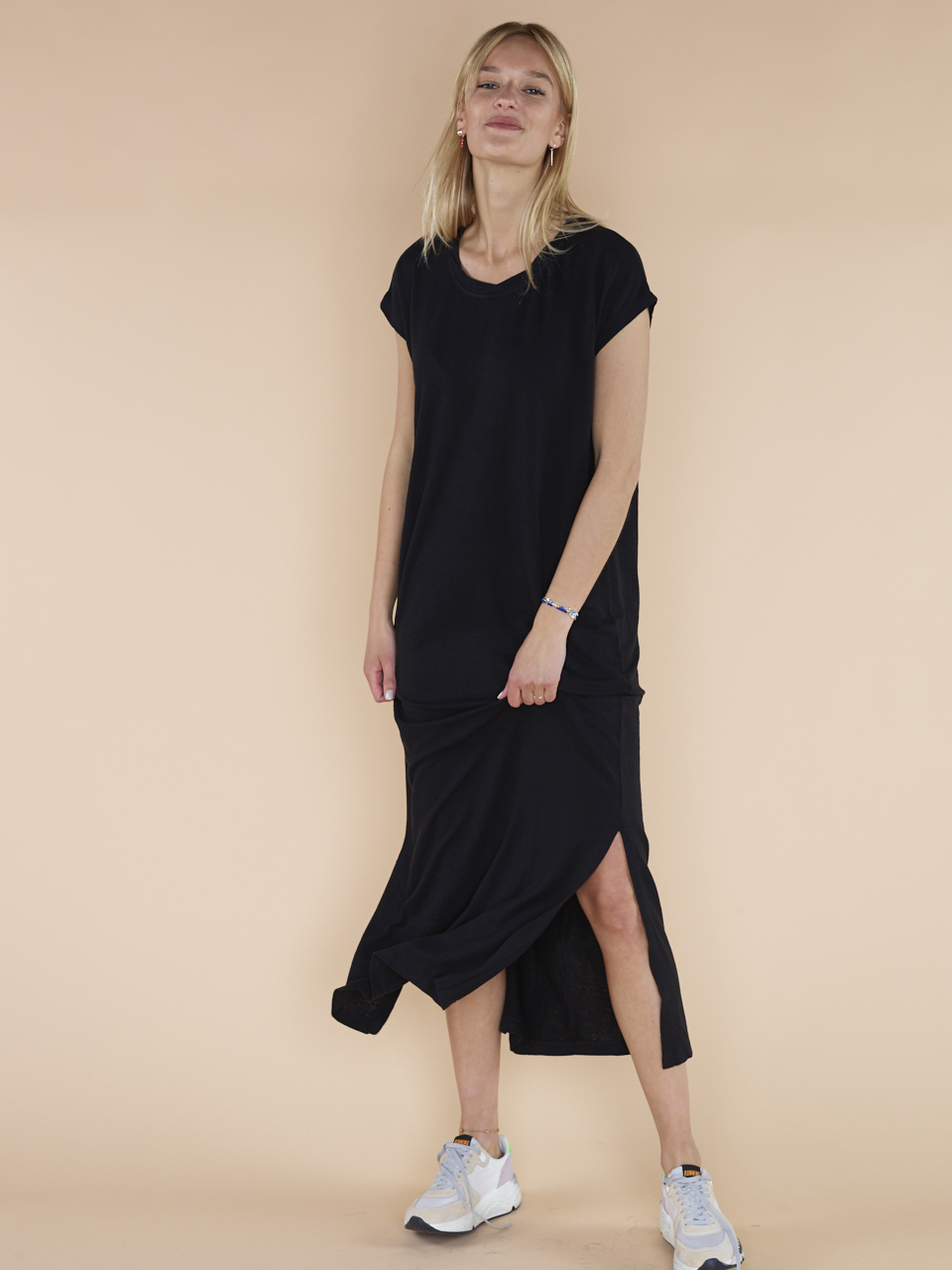 92f7ef3f40194f DRESS LONG LINEN DRESS LONG LINEN