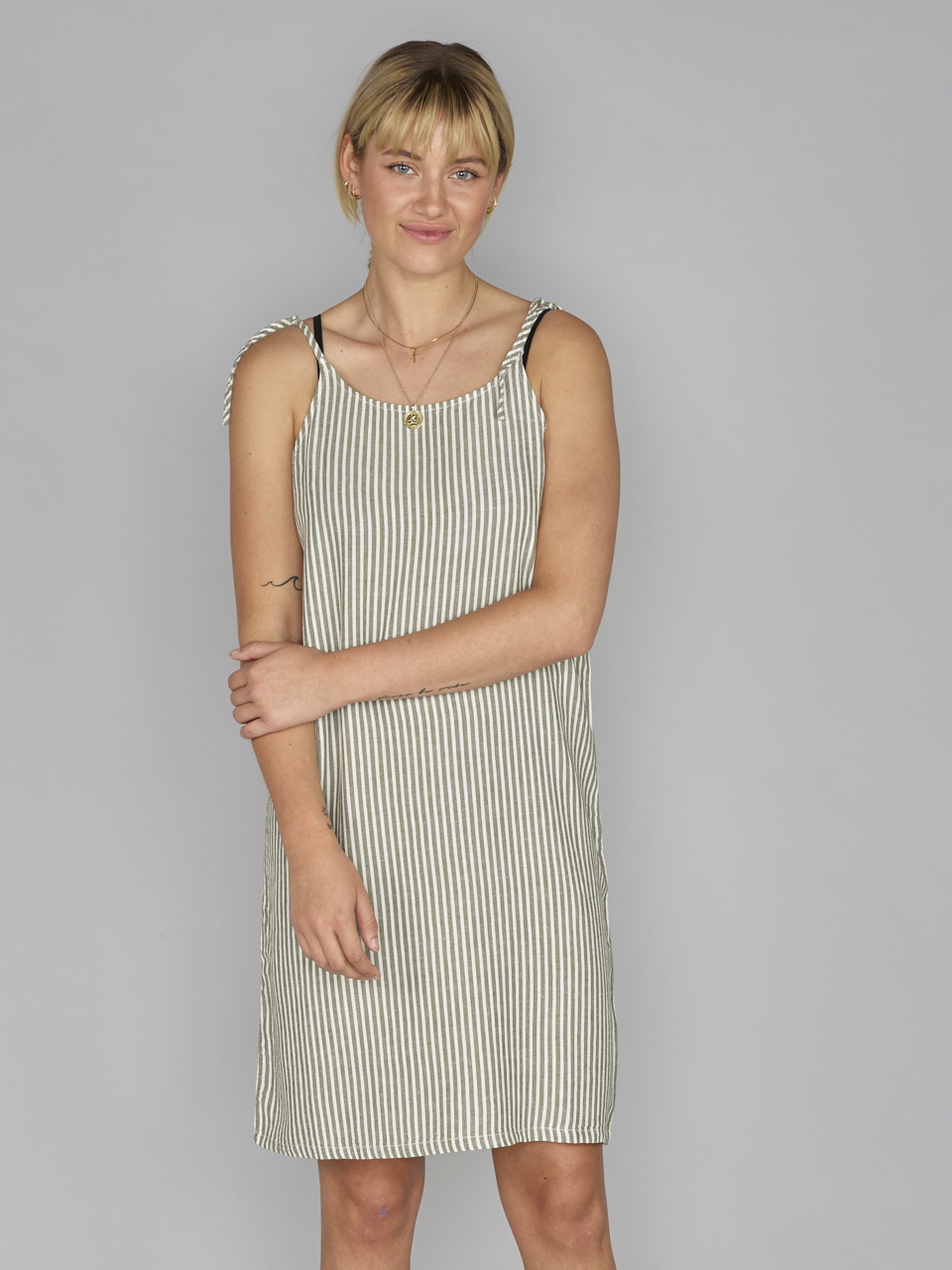 DRESS STRIPED SUE