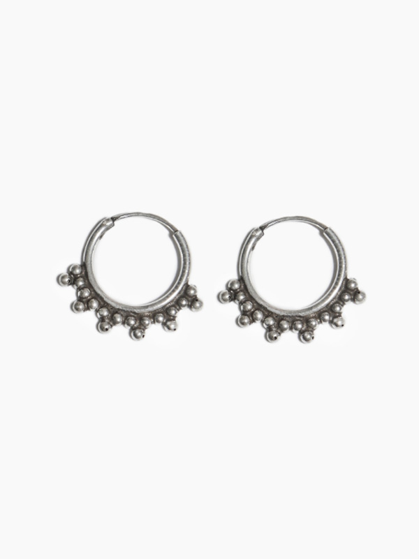 EARRING PABLO HOOP 12MM