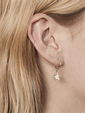EARRING STAR HOOP