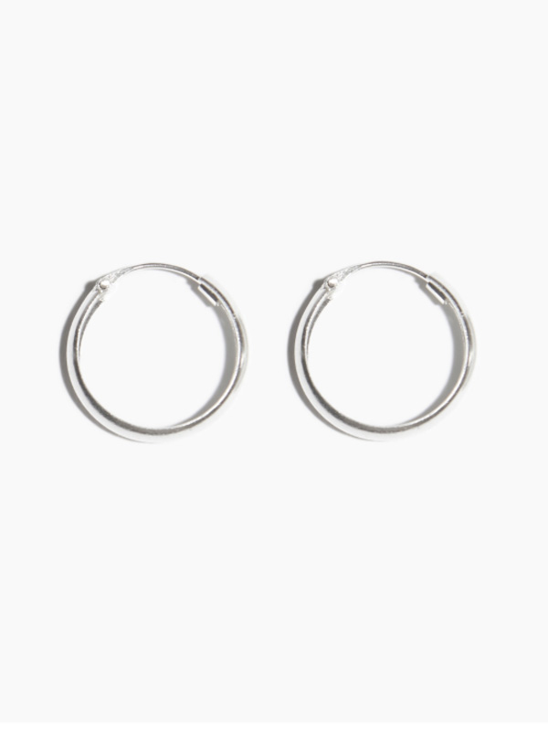 EARRING THICK HOOP 15MM
