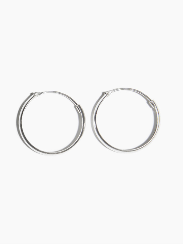 EARRING THICK HOOP 20MM