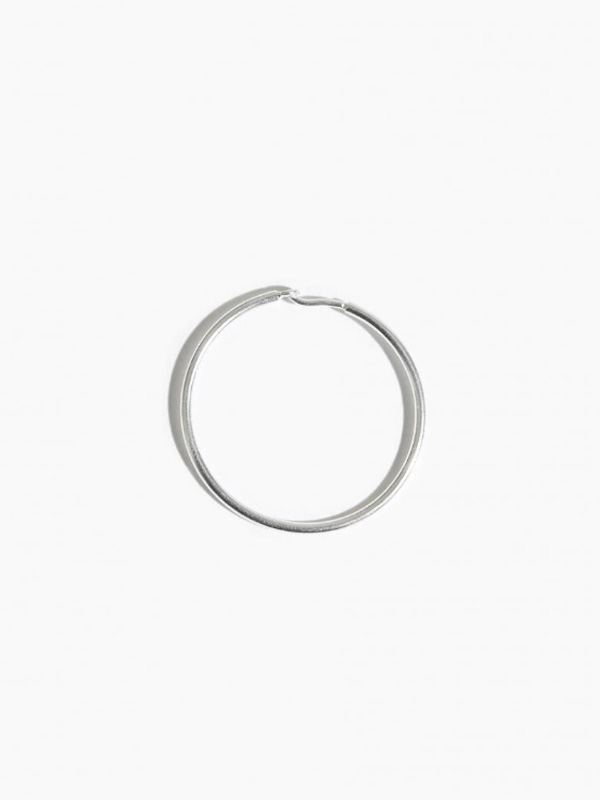 EARRING THICK SLEEPER HOOP 25MM
