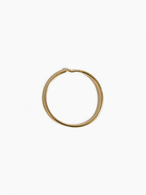 EARRING THICK SLEEPER HOOP 30MM
