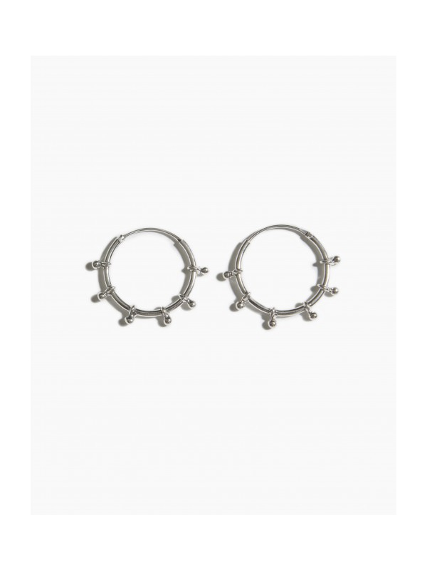 EARRINGS RIVER HOOP 20MM