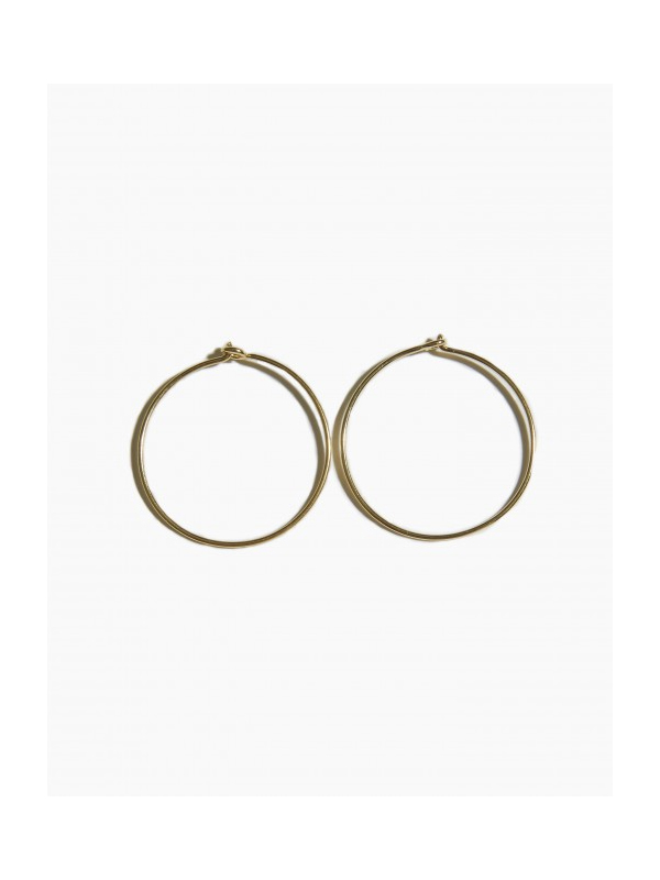 EARRINGS SLEEPER HOOP 25MM