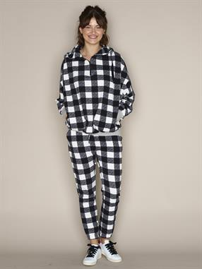 HOODIE OVERSIZED CHECK