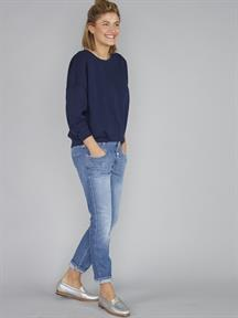 JEANS CROPPED WORKER