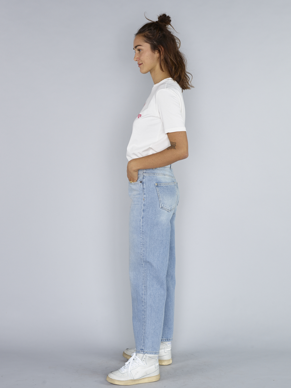 JEANS CRYSTAL STRAIGHT