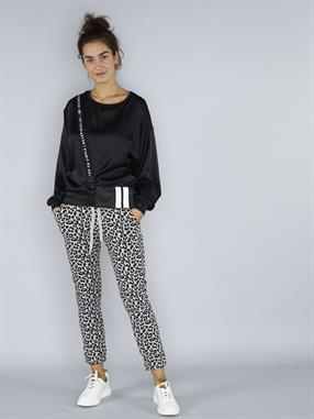 JOGGER CROPPED LEOPARD
