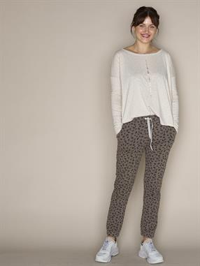 JOGGER CROPPED SMALL LEOPARD
