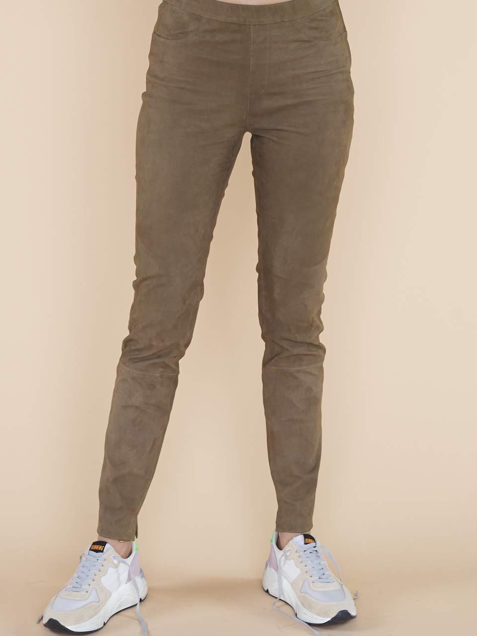 LEGGING CAMPBELL STRUC LEATHER
