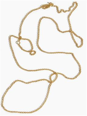 NECKLACE CABLE CHAIN 55-60CM