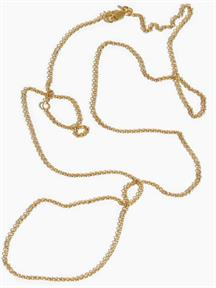 NECKLACE CABLE CHAIN 55-60CM