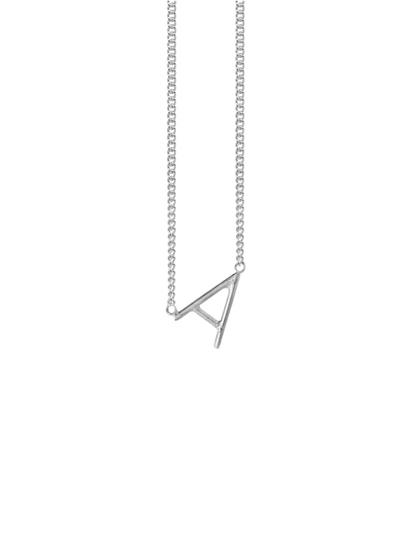 NECKLACE INITIAL LETTER A