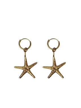 PAIR OF EARRINGS BIG STARFISH