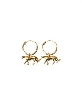 PAIR OF EARRINGS LEOPARD CLASSIC