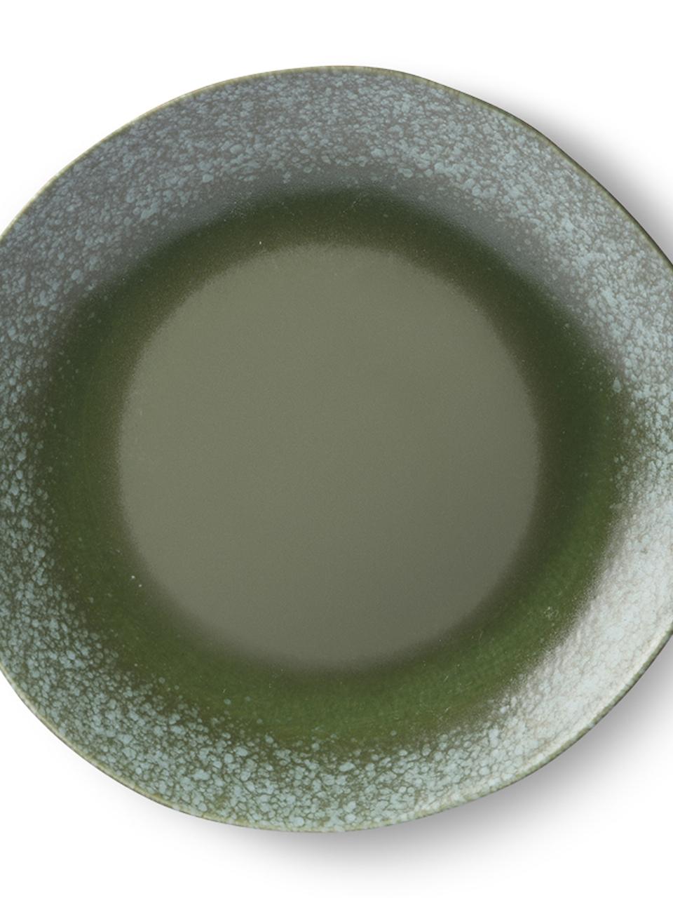 PLATE CERAMIC 70's DINNER