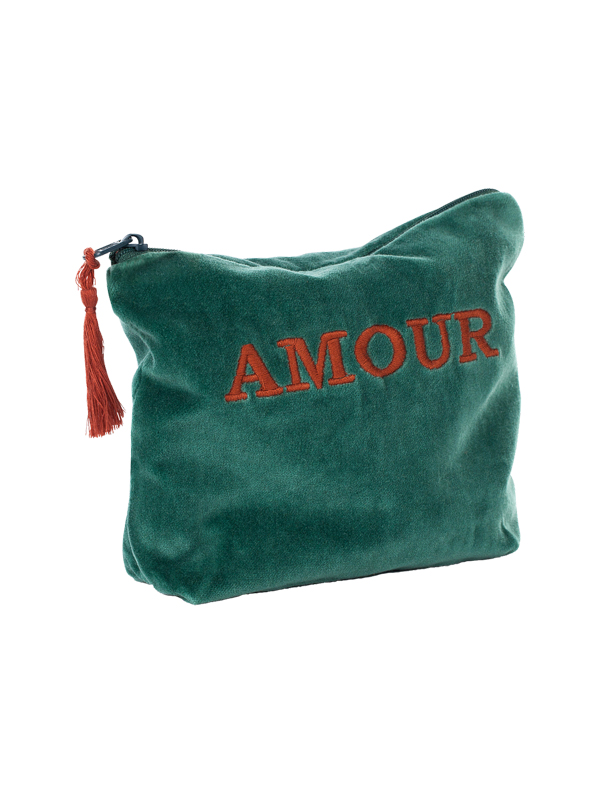 POUCH AMOUR GREEN
