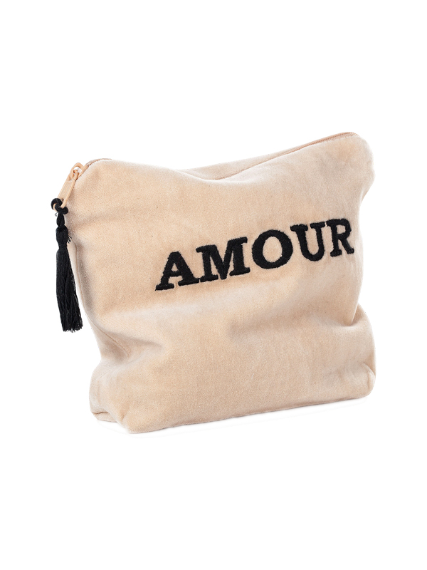 POUCH AMOUR SAND