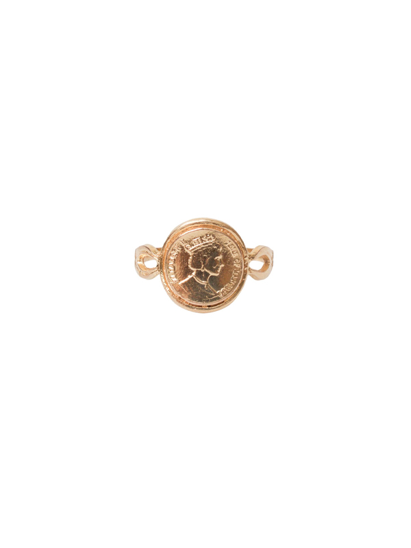 RING COIN ELISABETH