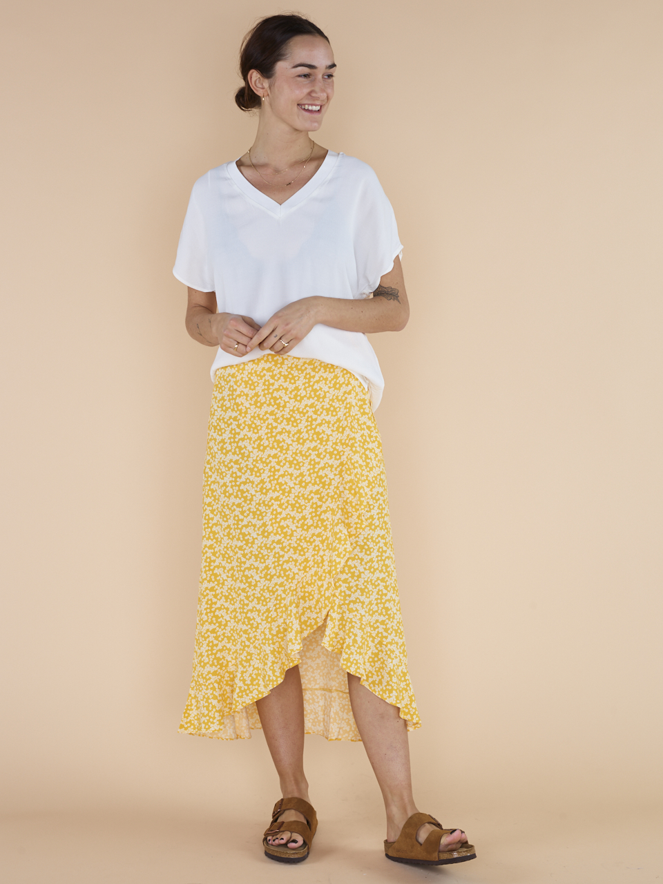 SKIRT LIMON L WRAP 6515