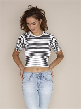 TEE RC SILBER CROPPED