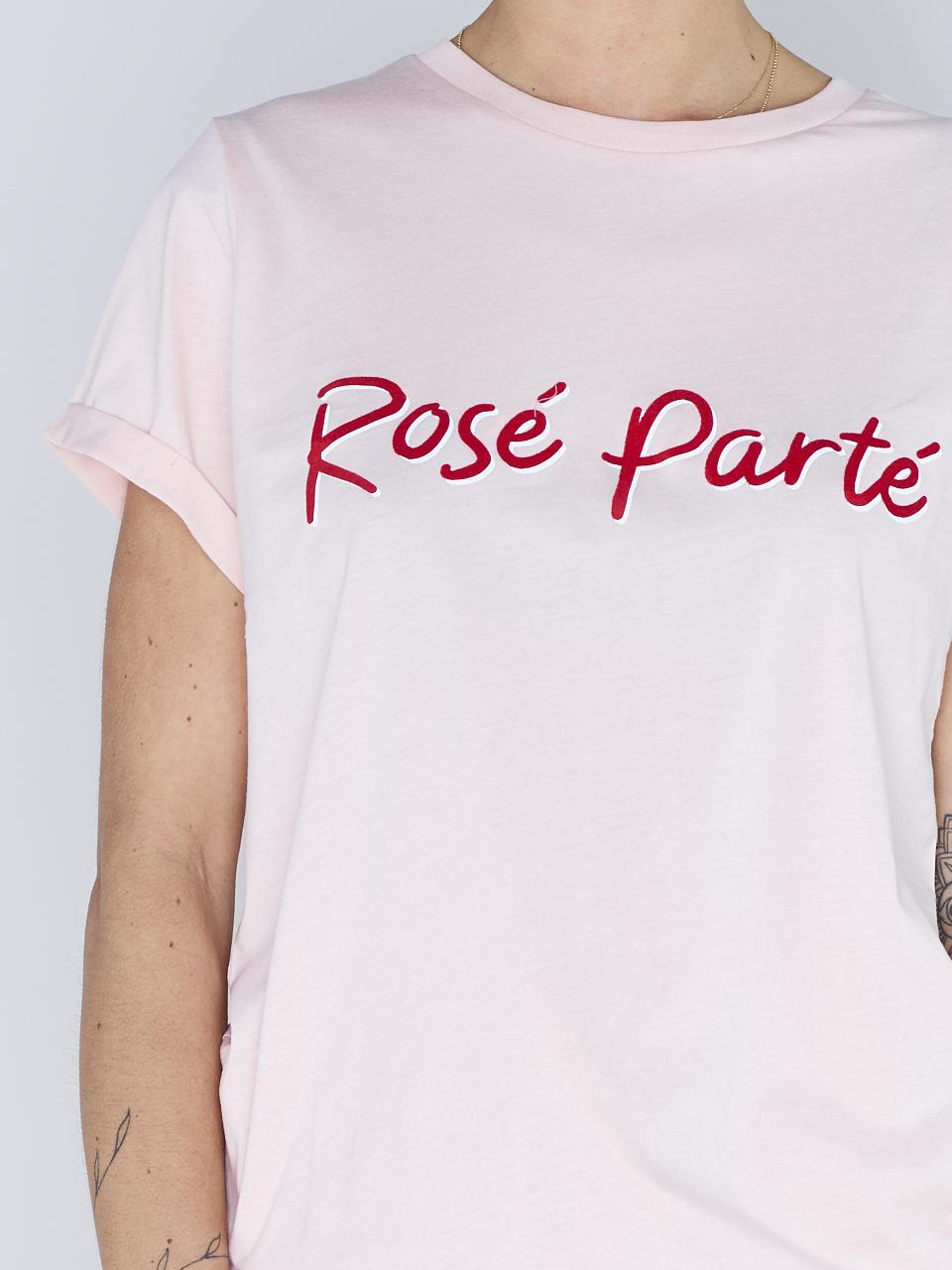 TEE ROSE PARTE