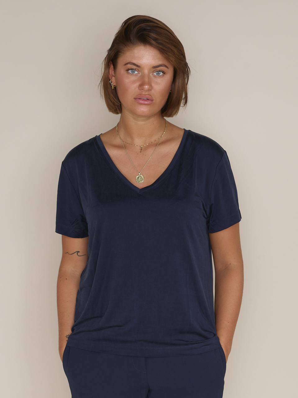 TEE SIFF V-NECK 6202