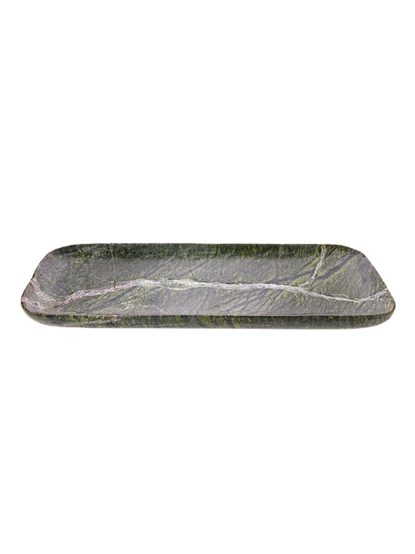 TRAY GREEN MARBLE